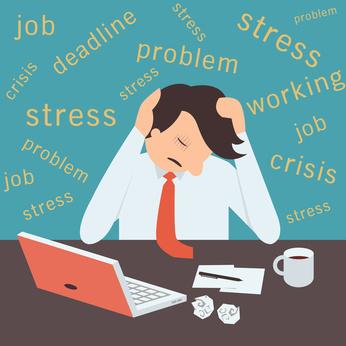 responsabile qualità stressato