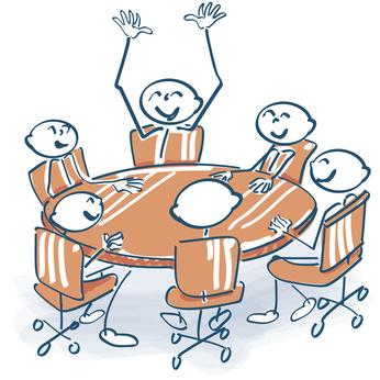 riunione conclusa in fretta grazie a i report in 24 ore