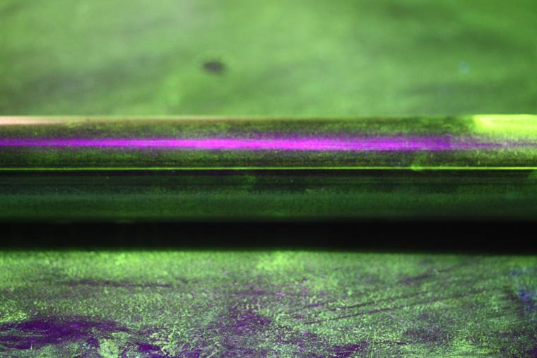 soluzione per rilevare difettosità fluorescenti
