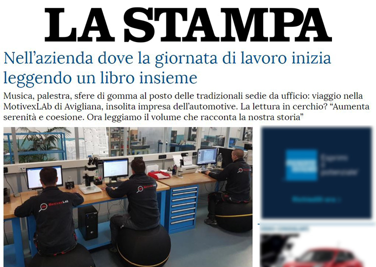 La Stampa, 9 Luglio 2017