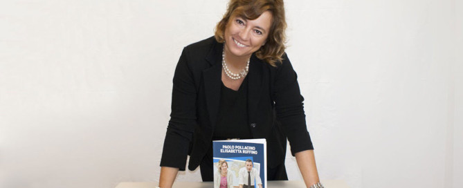 Elisabetta Ruffino presenta il suo libro