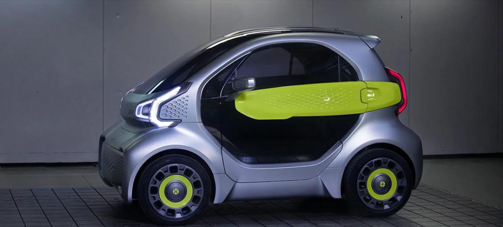 La prima auto elettrica costruita con stampante 3D