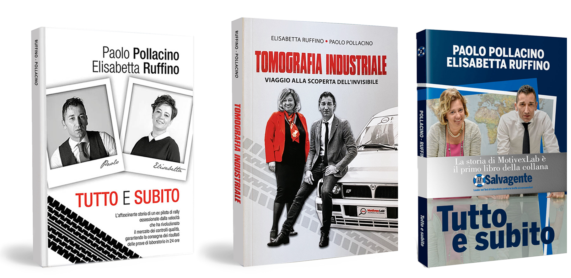 MotivexLab® AutoMotive Test Express i tre libri